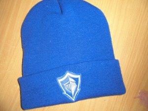 Adidas Beanie blue-white mixture fibre