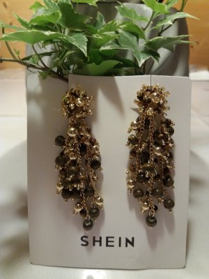 SheIn Earclip black-gold-colored