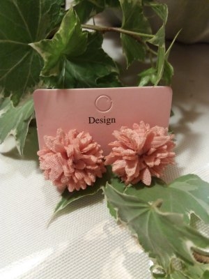 Earclip rose-gold-coloured