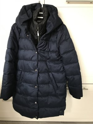 Be only Quilted Jacket blue polyester