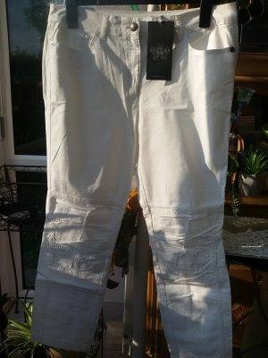 Passport Pantalón de cinco bolsillos blanco