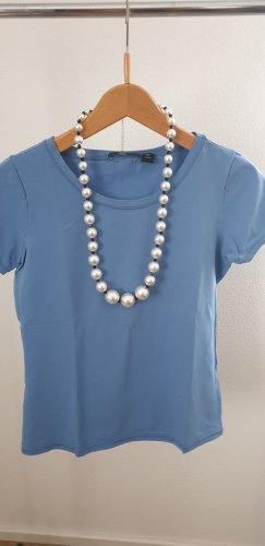 ANONYME Pearl Necklace light grey-black synthetic material