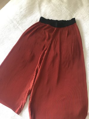 Vila Pleated Trousers russet-carmine mixture fibre