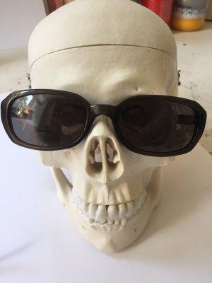 DKNY Hoekige zonnebril taupe