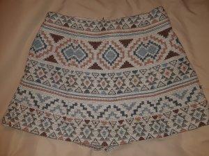 Zero Base Jupes-culottes brun-bleuet
