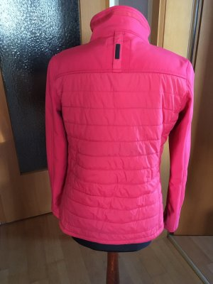 Giacca softshell rosso lampone