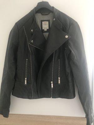 s.Oliver Biker Jacket black-anthracite