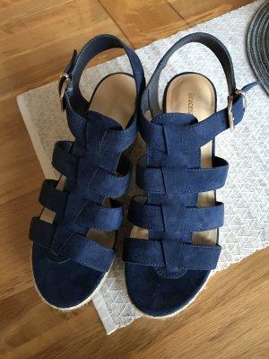 Tolle Sandalen von Graceland blau Gr. 39