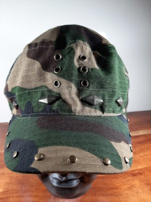 AWG Mode Visor Cap multicolored cotton