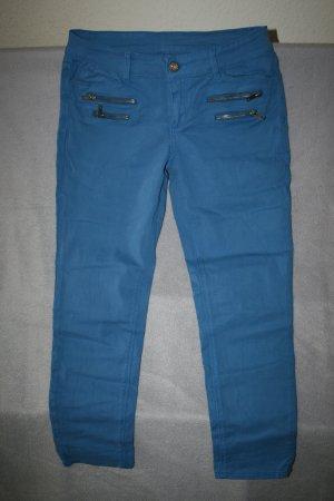 tolle schöne 7/8 Hose in coolem blau