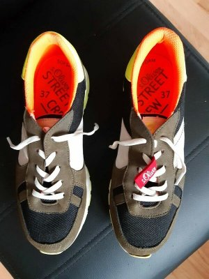 s.Oliver Lace-Up Sneaker multicolored