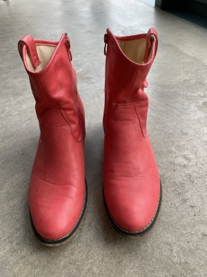 Fabs Short Boots salmon