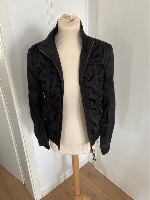 Tolle schwarz schimmernde Jacke