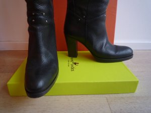 81hours Heel Boots black leather