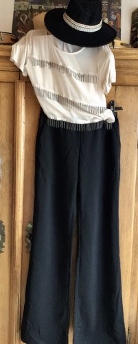 sheln Pantalone a vita alta nero