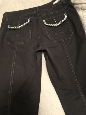 Apanage Pantalon cinq poches noir