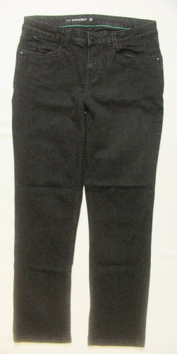 Tolle schwarze JEANS von C&A..straight leg..Größe DE 38