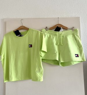 Tolle Set Shirt und schort Hose Gr L Tommy Jeans