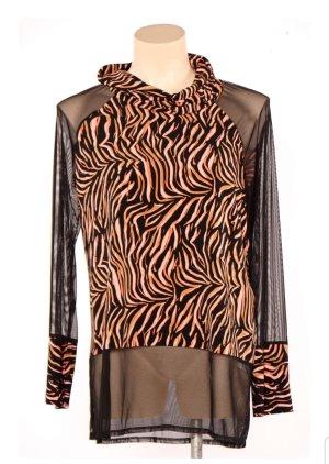 Joseph Ribkoff Blouse Shirt black-orange