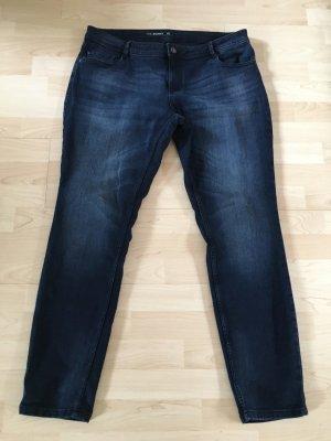 C&A Stretch jeans donkerblauw Katoen