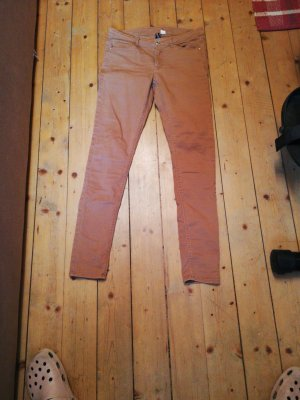 Tolle Skinny Jeans H&M hellbraun 40 Divided