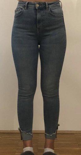 Zara Vaquero skinny azul