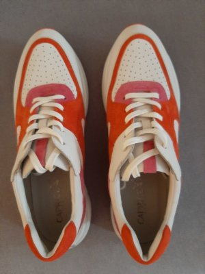 Caprice Lace-Up Sneaker multicolored leather