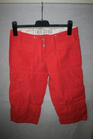tolle Sommerhose von Timezone Gr. 28 in rot - wie neu