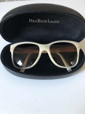 Ralph Lauren Gafas de sol ovaladas crema-blanco puro