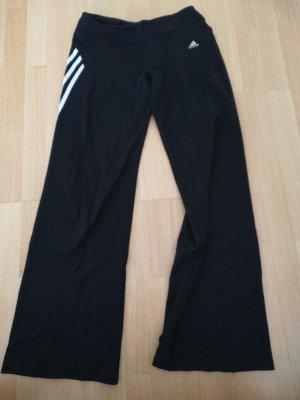 Adidas Spodnie sportowe biały-czarny