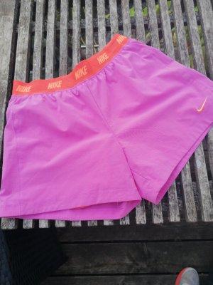 Nike Pantalon de sport orange-lilas