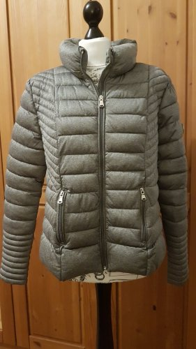 Amisu Quilted Jacket silver-colored-light grey