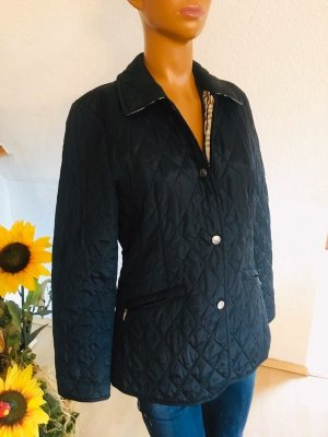 Christian Berg Quilted Jacket black mixture fibre