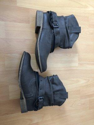Anna Field Botas deslizantes marrón claro-marrón grisáceo