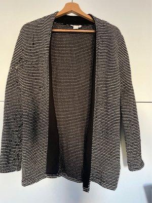 H&M Wollen blazer zwart-wit