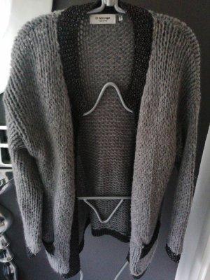 Rich & Royal Veste tricotée en grosses mailles multicolore