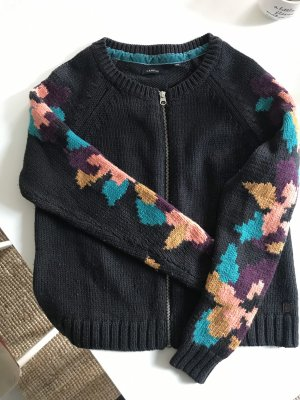 Campus by Marc O'Polo Coarse Knitted Jacket dark blue