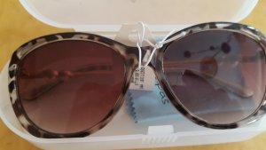 Tolle stylische Sonnenbrille von palapas im leolook mit seitlichen Perlen - Neue Kollektion