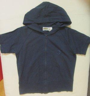 Alex Athletics Chaqueta con capucha azul oscuro Algodón