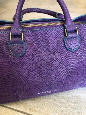 Tolle Tasche von Liebeskind, lila