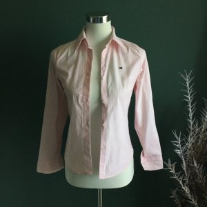 Tommy Hilfiger Blusa de manga larga blanco-rosa Algodón