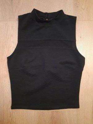 Koszulka z golfem czarny