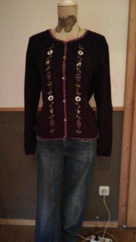 Folkloristische jas paars-lila