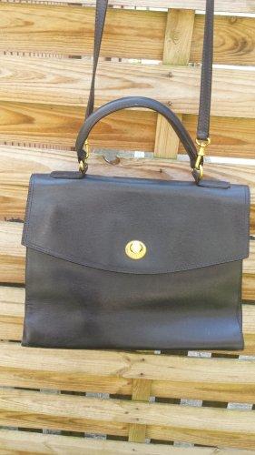 Tolle Trussardi Italy Tasche Handtasche Kelle Bag Schultertasche Echt Leder
