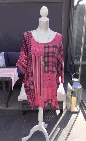 100% Fashion Blusa a tunica multicolore