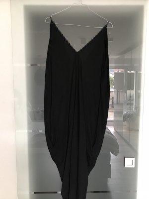 Tunic Dress black-silver-colored cotton