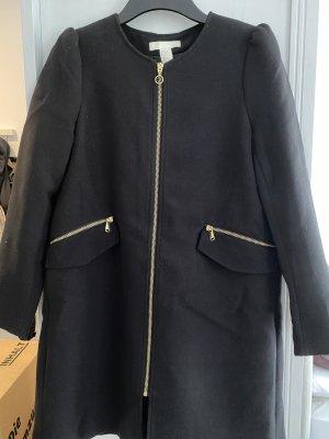 H&M Płaszcz przejściowy czarny