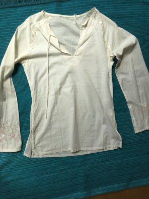 Tolle weiße Bluse/Tunika für den Sommer