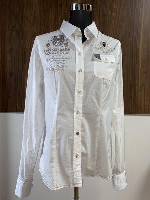 Tolle weiße SOCCX Bluse