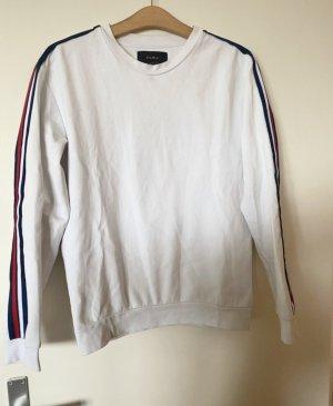 Tolle weiße Sweatshirt Gr S Zara